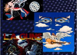 L.A. Guns Album Art: illustration by Maxine Miller