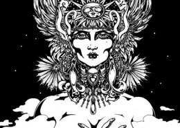 Akasha: illustration by Maxine Miller