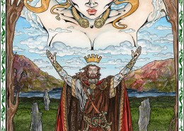 Celtic Oracle Deck (King of Dalriadae) - art by Maxine Miller