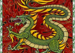 Celtic Oracle Deck (Dragon) - art by Maxine Miller