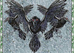Celtic Oracle Deck (Ravens) - art by Maxine Miller