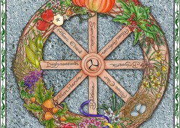 Celtic Oracle Deck (Wheel of the Year) - art by Maxine Miller