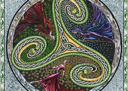 Celtic Oracle Deck (Triskelle) - art by Maxine Miller