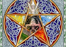 Celtic Oracle Deck (Pentagram) - art by Maxine Miller