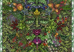Celtic Oracle Deck (The Green Man) - art by Maxine Miller