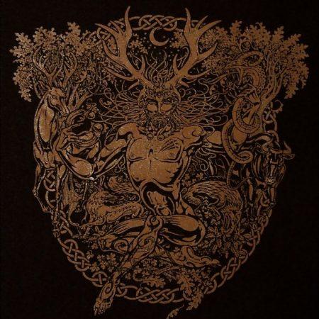 Cernunnos Horned God Long Sleeve: Design by Maxine Miller